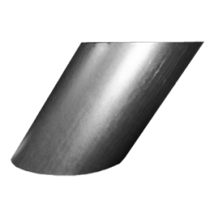 45º Adjustable Wall Sleeve for 150mm Twin wall chimneys (210 mm diameter sleeve)