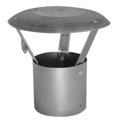 Simple Rain Cap (no chimney pot).