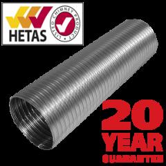 """Stainless Steel Flue Liner 904L Grade 150mm / 6"""""""
