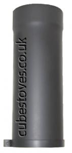 500mm Adjustable Flue Pipe / Matt Grey