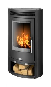 Arctic 5kw grey wood burning stove