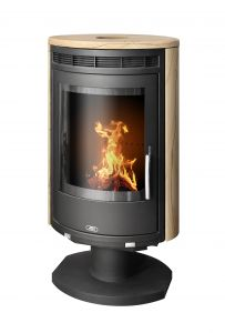 Arctic 8kw rotating wood burning stove