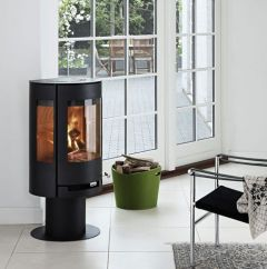 Aduro 9-3 DEFRA approved black wood burning stove