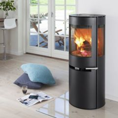Aduro 9-5 DEFRA approved black wood burning stove