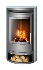 Soapstone Wood Burning Stove / Grey