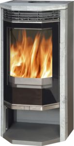 """Arden"" - 5kw soapstone & glass stove"