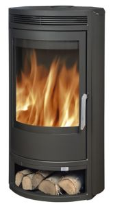Arctic 6.5kw Wood Burning Stove - grey or black