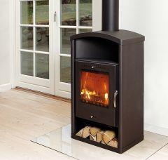 Asgard 3 contemporary modern wood burning stove