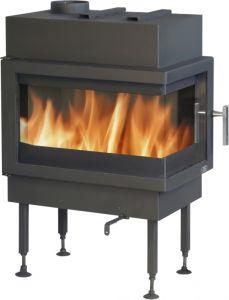 Cardiff 8kw inset wood burning & multifuel stove