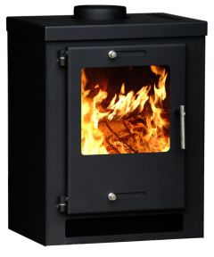 CUBE-Wood-burning-contemporary-multifuel-stove-grey