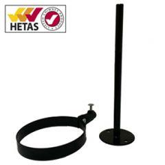 Flue Pipe Support Bracket - Adjustable length