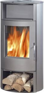 Island Aqua 10kw boiler stove - grey