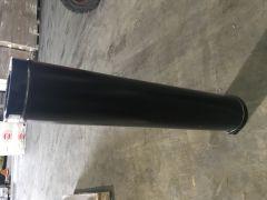 KC Convesa Twin wall chimney 125mm internal Black (175mm external)