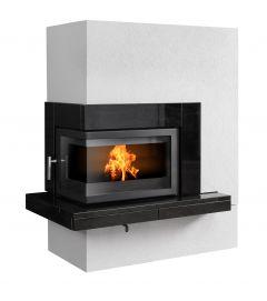 pateo left handed corner inset insert stove