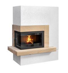 ateo left handed corner inset insert stove