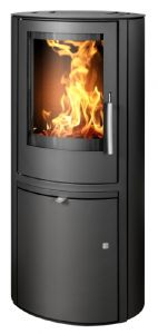 'Reno' 5kw wood burning stove - black