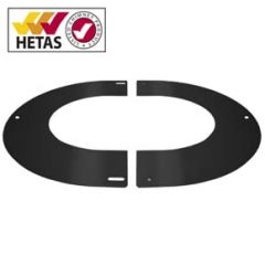 Round finishing Plate 0-30º, 150mm (200mm) Black