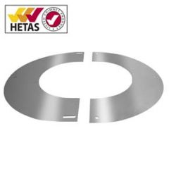 Round finishing Plate 0-30º, 150mm (200mm) Stainless.