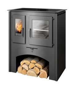 Thasos 4kw with oven and ceramic hob