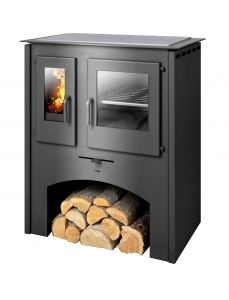Thasos 4kw oven with steel top