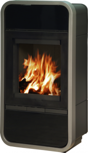 Trim wood burning and multifuel stove