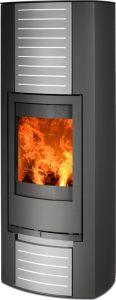 'Turk Aqua'  Black - Pressurised / Unvented Boiler stove
