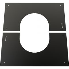 Finishing Plate 0º-30º, 150mm (200mm) Black