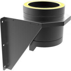 Adjustable Base Support, 150mm Black