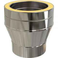 Adapter: Flue Pipe to KC Twin Wall Chimney System