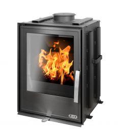York K 7kw Inset wood burning & multifuel stove
