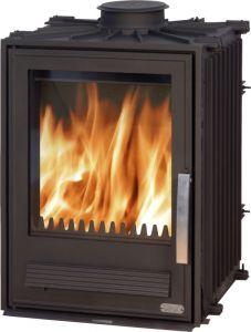 York L 7kw Inset wood burning & multifuel stove